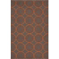 Artistic Weavers Tapis de passage d'intérieur/extérieur, 5 pi x 8 pi, style transitionnel, rectangulaire, brun Margilia