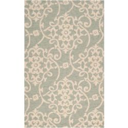 Artistic Weavers Piskent Green 5 ft. x 8 ft. Indoor/Outdoor Transitional Rectangular Area Rug