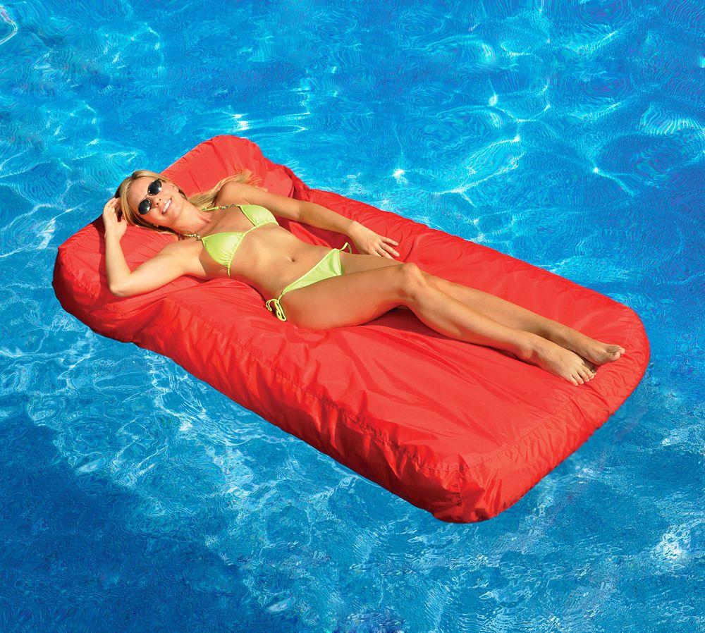 Sunsoft� Inflatable Mattress Pool Lounger
