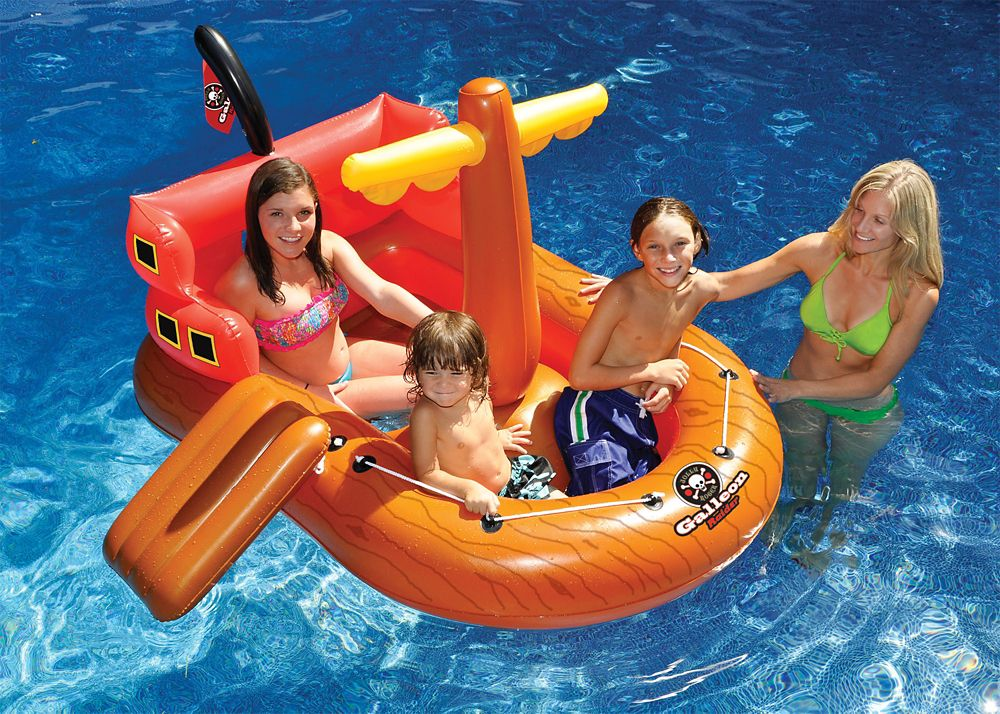 Galleon Raider Inflatable Pool Toy