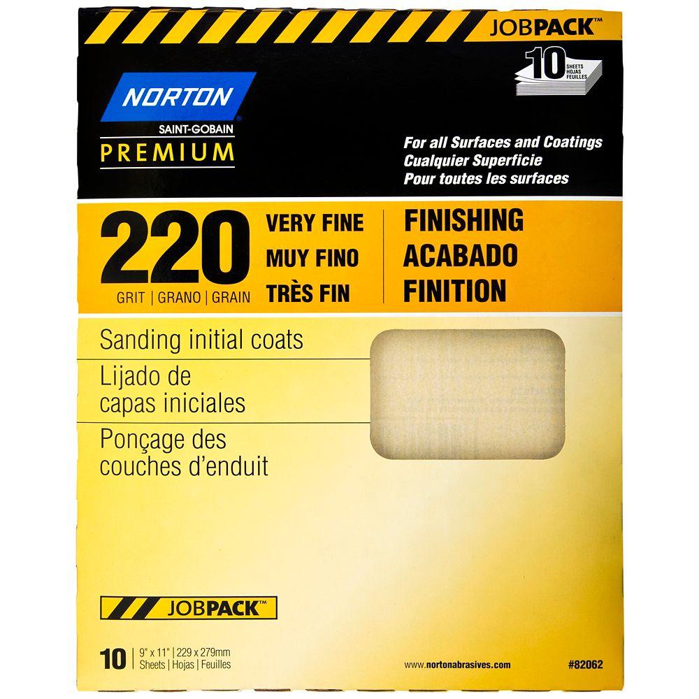 Papier à ponçer Premium grain 220
