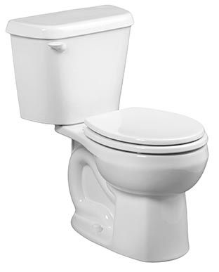 Crane Complete 2-Piece 6 LPF Single Flush Round Bowl Toilet