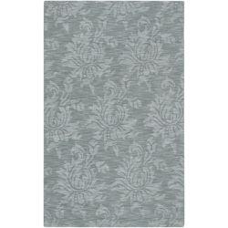 Artistic Weavers Carpette d'intérieur, 5 pi x 8 pi, à poils longs, style contemporain, rectangulaire, bleu Biruca