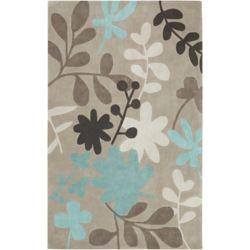 Artistic Weavers Carpette d'intérieur, 2 pi x 3 pi, style transitionnel, rectangulaire, gris Angol