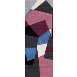 Artistic Weavers Ancud Blue 2 ft. 6-inch x 8 ft. Indoor Transitional Runner