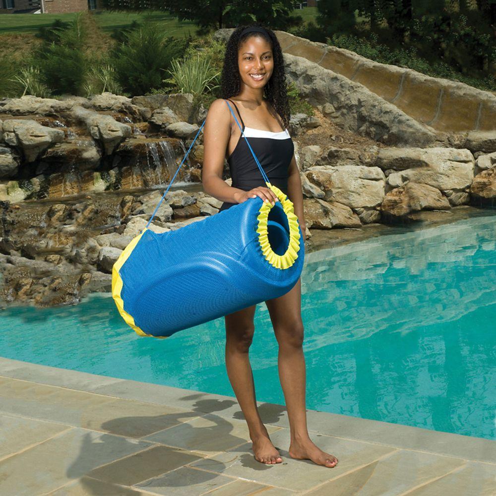 Handy Tote Pool Float Bag in Blue