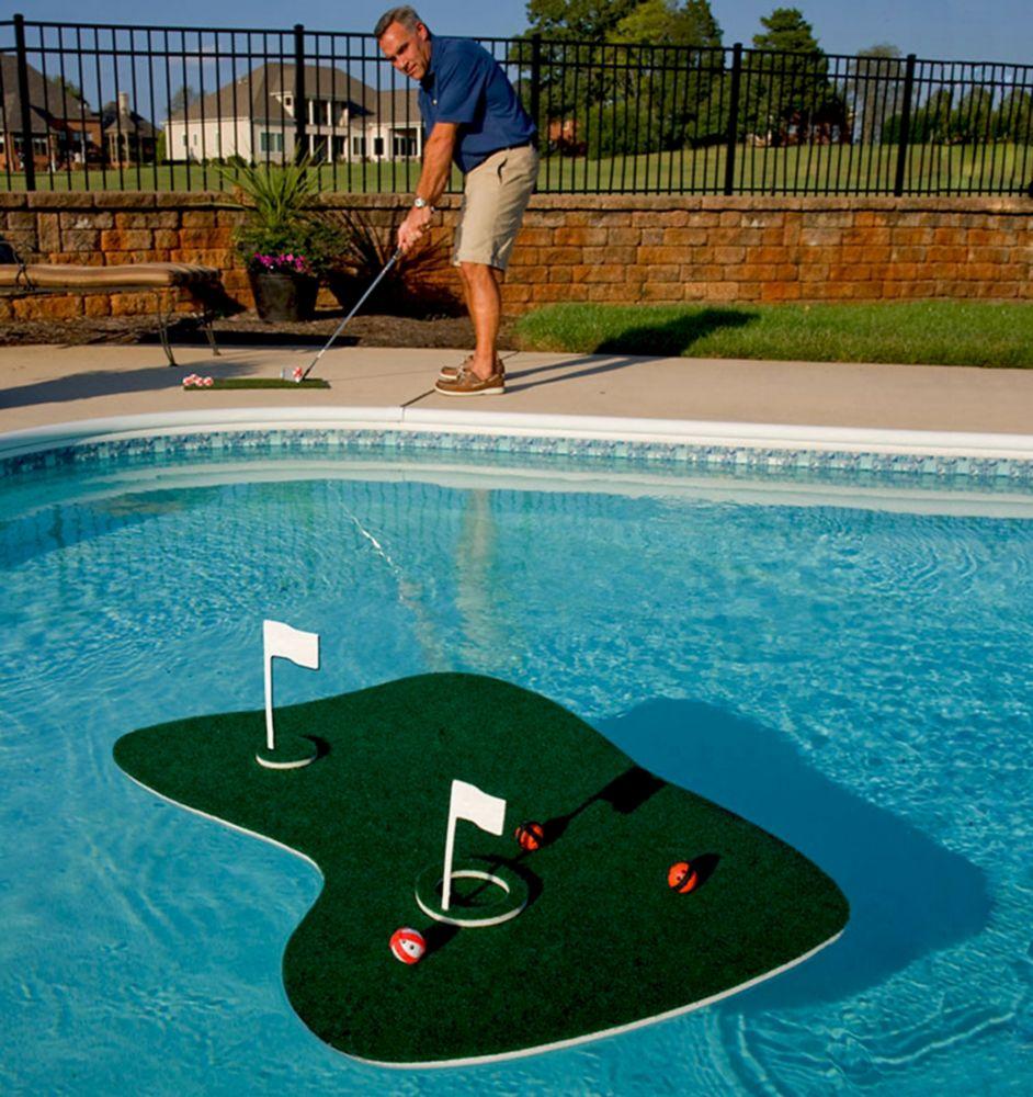 Vert de golf flottant pour piscine