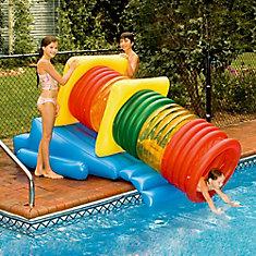 Glissade d'eau gonflable pour piscine