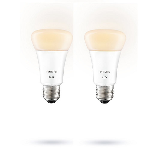 LED 9W LUX A-line Starter Pack with 2 Bulbs and Bridge