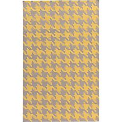 Artistic Weavers Carpette d'intérieur, 2 pi x 3 pi, style contemporain, rectangulaire, jaune Londrina