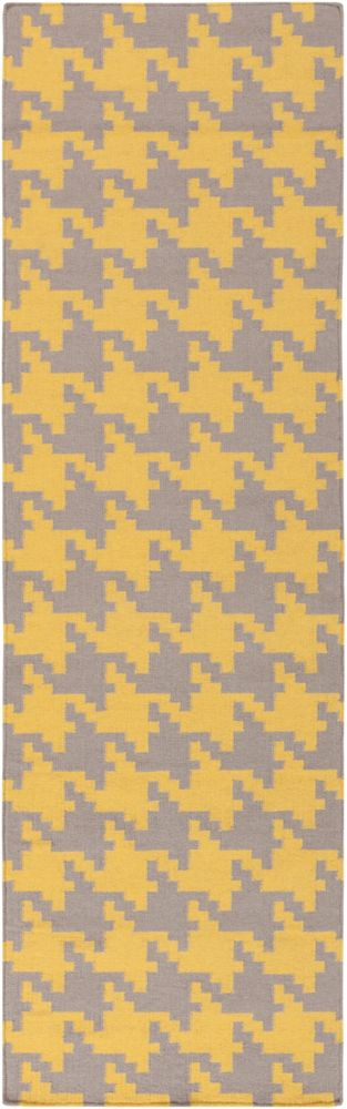 Artistic Weavers Londrina Yellow 2 ft. 6-inch x 8 ft. Indoor Contemporary Runner