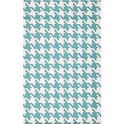Artistic Weavers Carpette d'intérieur, 8 pi x 11 pi, style contemporain, rectangulaire, bleu Preta