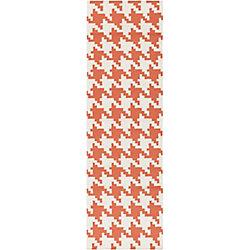 Artistic Weavers Tapis de passage d'intérieur, 2 pi 6 po x 8 pi, style contemporain, orange Diada