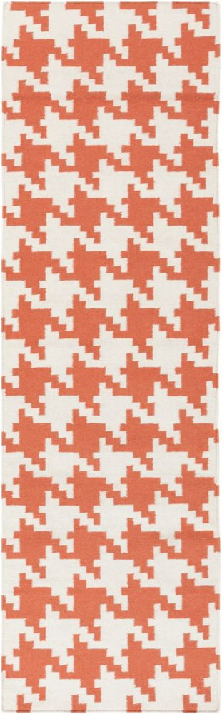Artistic Weavers Diada Orange 2 ft. 6-inch x 8 ft. Indoor Contemporary Runner
