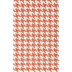Artistic Weavers Diada Orange 5 ft. x 8 ft. Indoor Contemporary Rectangular Area Rug
