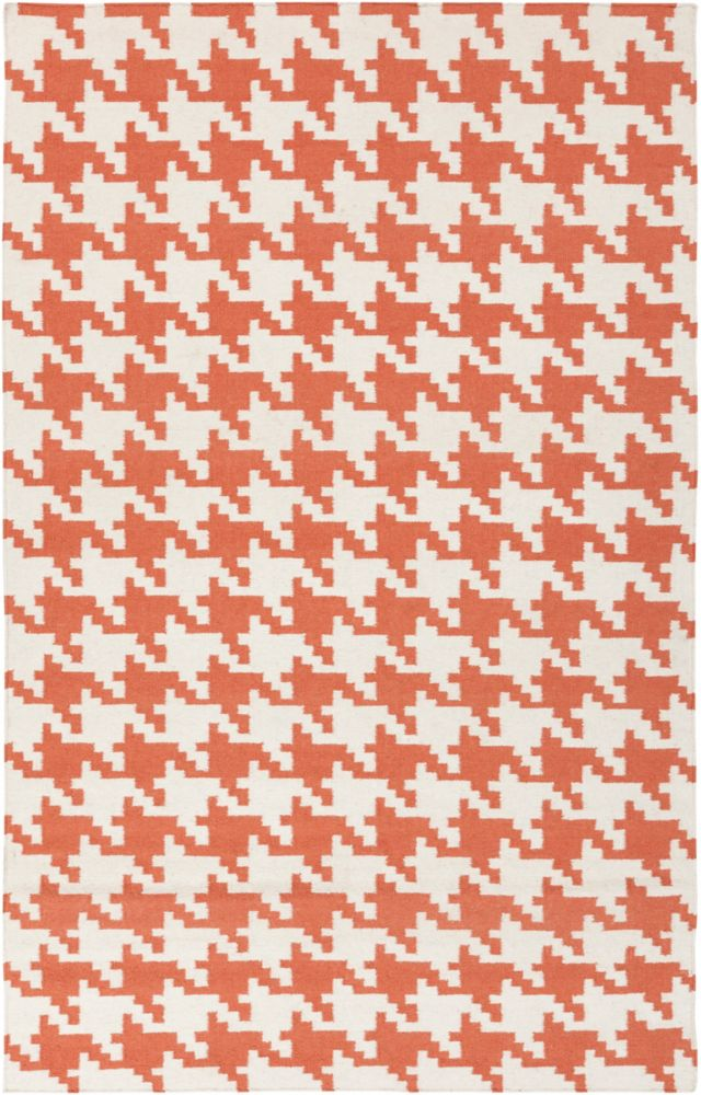 Artistic Weavers Diada Orange 5 ft. x 8 ft. Indoor Contemporary Rectangular Area Rug