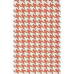 Artistic Weavers Carpette d'intérieur, 8 pi x 11 pi, style contemporain, rectangulaire, orange Diada