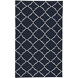 Artistic Weavers Carpette d'intérieur, 2 pi x 3 pi, style contemporain, rectangulaire, bleu Pelotas
