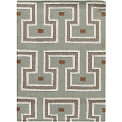 Artistic Weavers Limeira Blue 2 ft. x 3 ft. Indoor Contemporary Rectangular Accent Rug