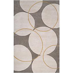 Artistic Weavers Norte Grey 2 ft. x 3 ft. Indoor Contemporary Rectangular Accent Rug