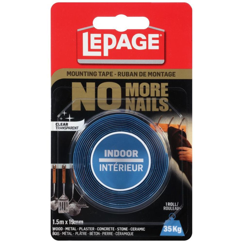 No More Nails Indoor Mounting Tape