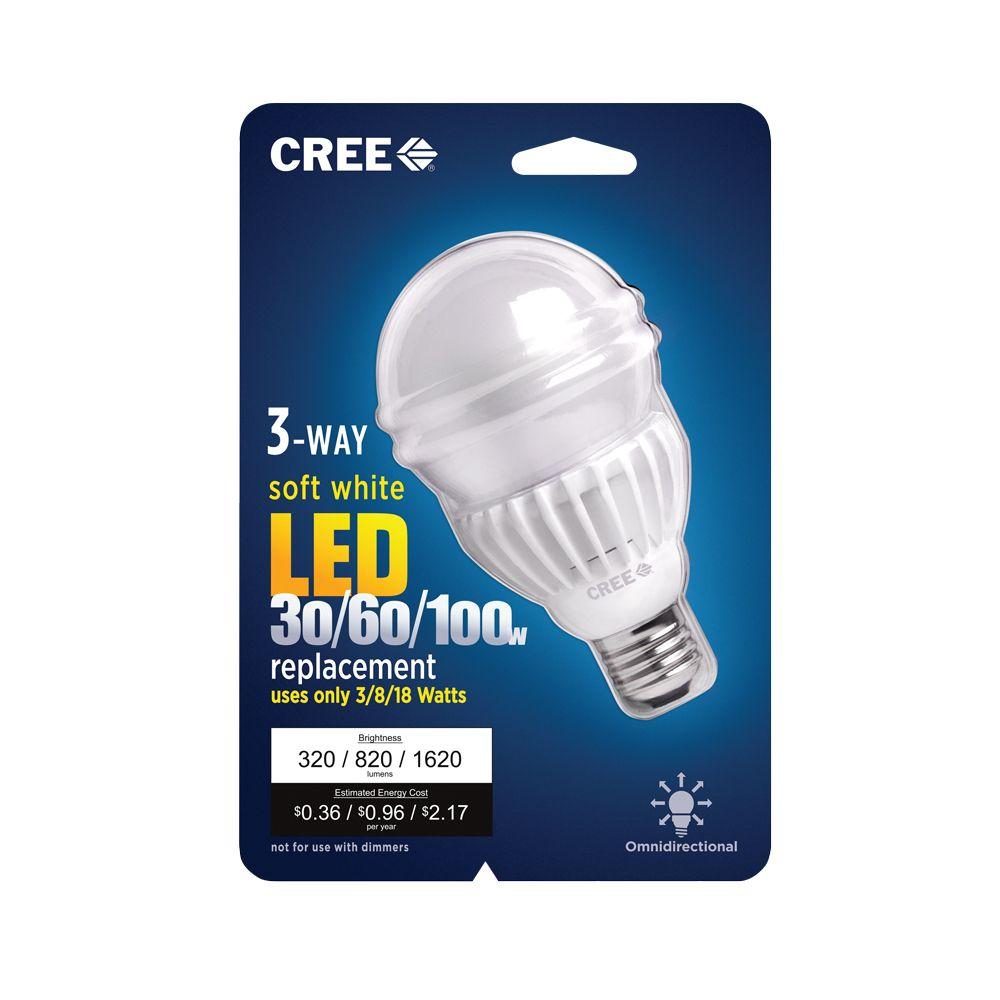 Cree LED A21 30/60/100W Soft White