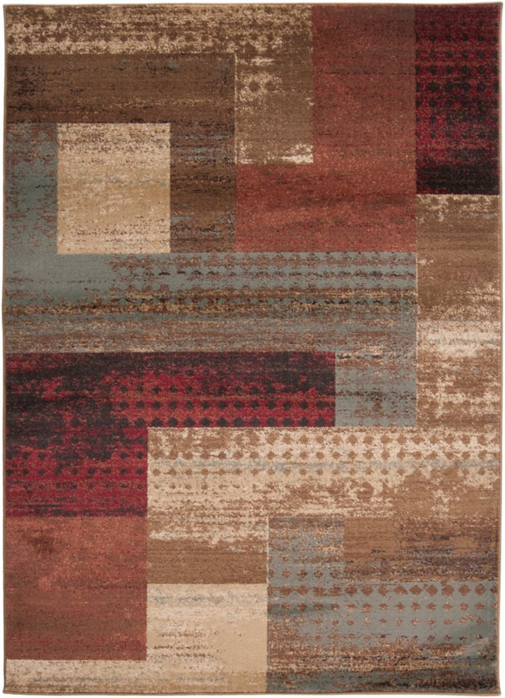 Artistic Weavers Cornelia Brown 2 ft. x 3 ft. 3-inch Indoor Transitional Rectangular Accent Rug