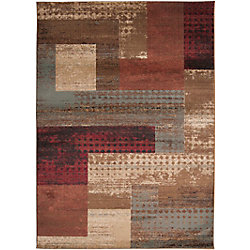Artistic Weavers Cornelia Brown 7 ft. 10-inch x 10 ft. 10-inch Indoor Transitional Rectangular Area Rug