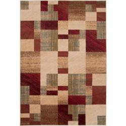 Artistic Weavers Carpette d'intérieur, 5 pi 3 po x 73 pi 6 po, style transitionnel, rectangulaire, brun Cottica