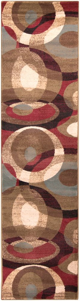 Artistic Weavers Gronike Brown 2 ft. x 7 ft. 5-inch Indoor Transitional Runner
