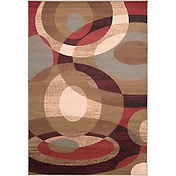 Artistic Weavers Carpette d'intérieur, 5 pi 3 po x 73 pi 6 po, style transitionnel, rectangulaire, brun Gronike