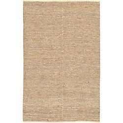 Artistic Weavers Carpette d'intérieur, 8 pi x 11 pi, tissage texturé, rectangulaire, havane Cerrillos