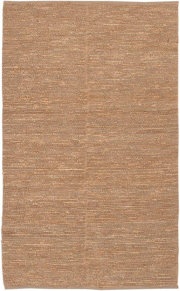 Conchali Beige Tan 5 ft. x 8 ft. Indoor Textured Rectangular Area Rug