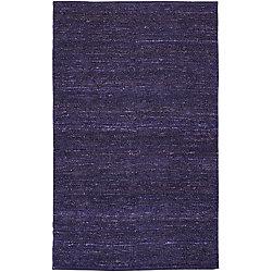 Artistic Weavers Carpette d'intérieur, 2 pi x 3 pi, tissage texturé, rectangulaire, violet Cisterna