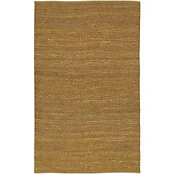 Artistic Weavers Carpette d'intérieur, 5 pi x 8 pi, tissage texturé, rectangulaire, vert Pintana