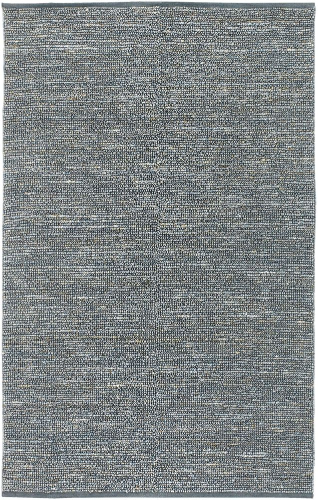 Condes Gray Blue Jute  - 8 Ft. x 11 Ft. Area Rug