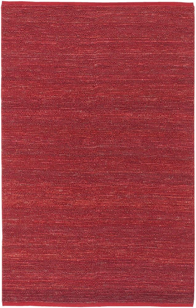 Macul Red Jute  - 5 Ft. x 8 Ft. Area Rug