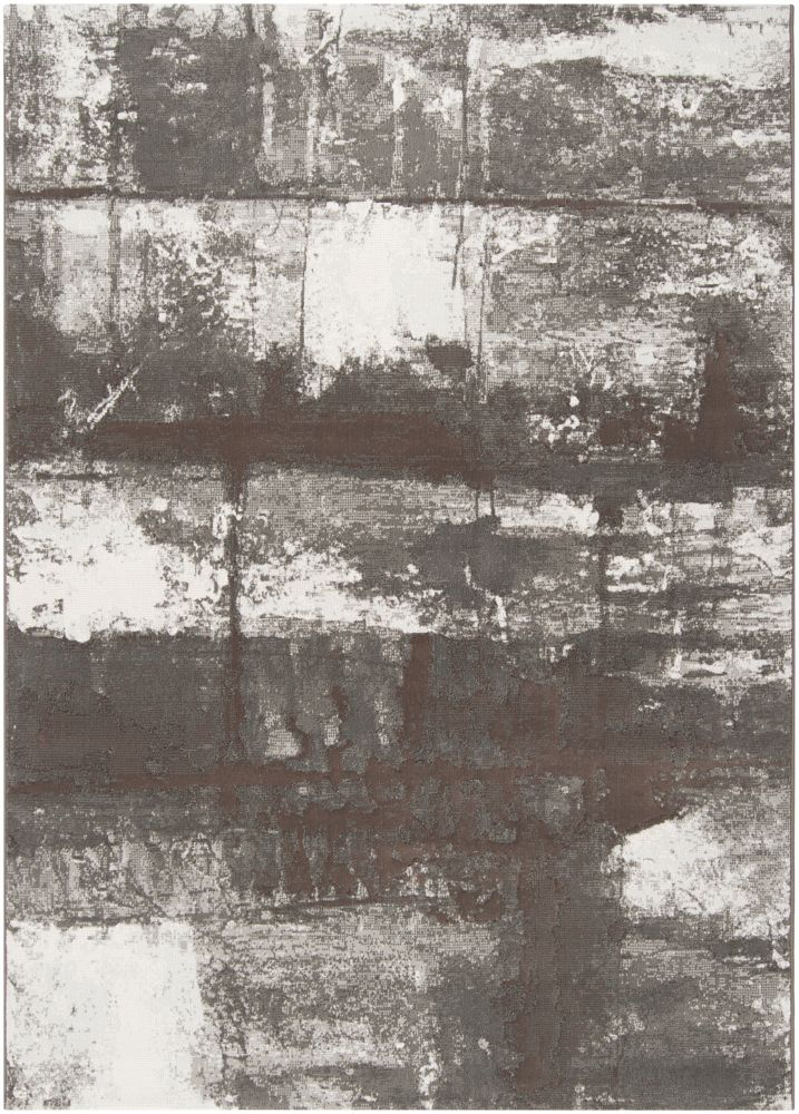 Carpette Renca grise en polypropylène 7 Pi. 10 Po. x 10 Pi.