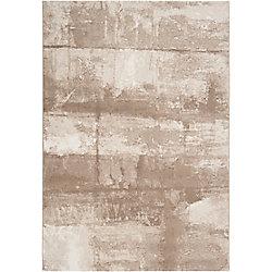 Artistic Weavers Carpette d'intérieur, 7 pi 10 po x 10 pi, style contemporain, rectangulaire, havane Vitacura