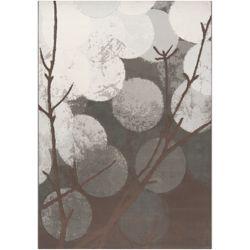 Artistic Weavers Carpette d'intérieur, 2 pi x 3 pi, style contemporain, rectangulaire, gris Colina