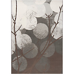 Artistic Weavers Colina Grey 5 ft. 3-inch x 7 ft. 6-inch Indoor Contemporary Rectangular Area Rug
