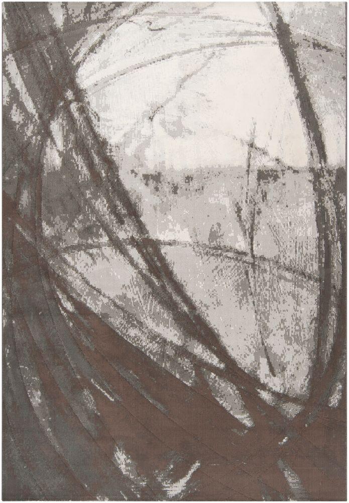 Artistic Weavers Batuco Grey 5 ft. 3-inch x 7 ft. 6-inch Indoor Contemporary Rectangular Area Rug
