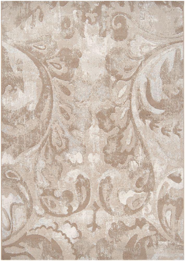 Artistic Weavers Tiltil Beige Tan 5 ft. 3-inch x 7 ft. 6-inch Indoor Contemporary Rectangular Area Rug