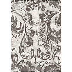 Artistic Weavers Talagante Grey 7 ft. 10-inch x 10 ft. Indoor Contemporary Rectangular Area Rug