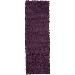 Artistic Weavers Pisco Purple 2 ft. 6-inch x 8 ft. Indoor Shag Runner