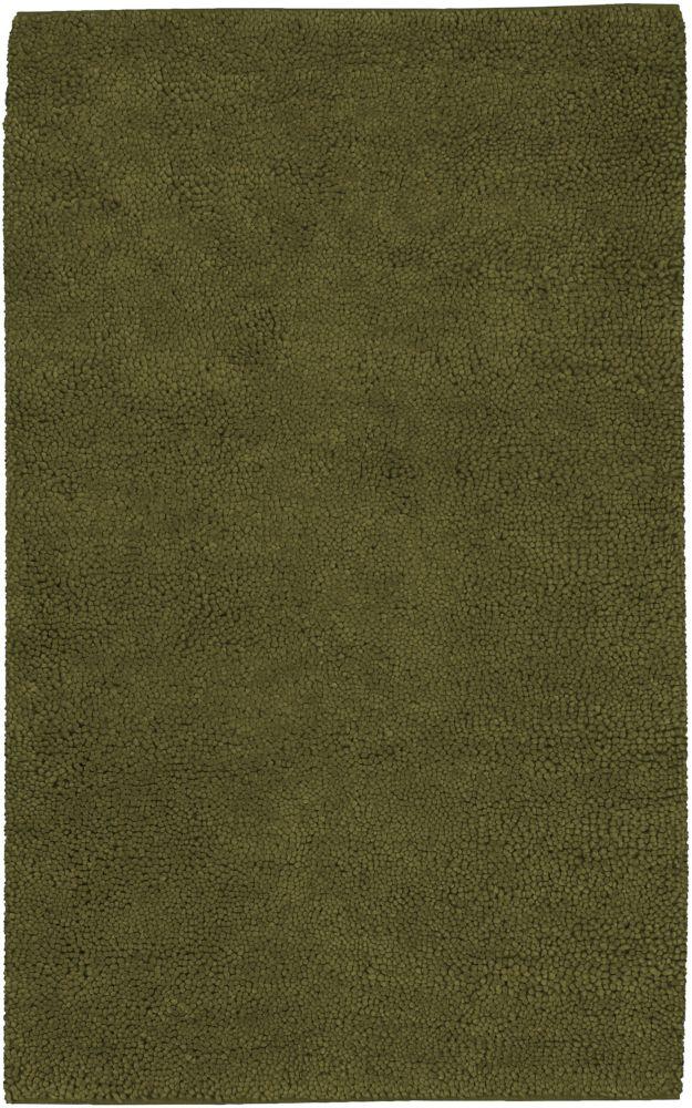 Artistic Weavers Imperial Green 2 ft. x 3 ft. Indoor Shag Rectangular Accent Rug