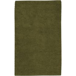 Artistic Weavers Imperial Green 2 ft. x 3 ft. Indoor Shag Rectangular Accent Rug