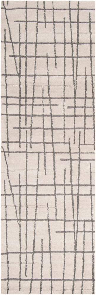 Artistic Weavers Pascua Grey 2 ft. 6-inch x 8 ft. Indoor Contemporary Runner