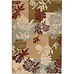 Artistic Weavers Carpette d'intérieur, 5 pi 3 po x 73 pi 6 po, style transitionnel, rectangulaire, havane Mampora