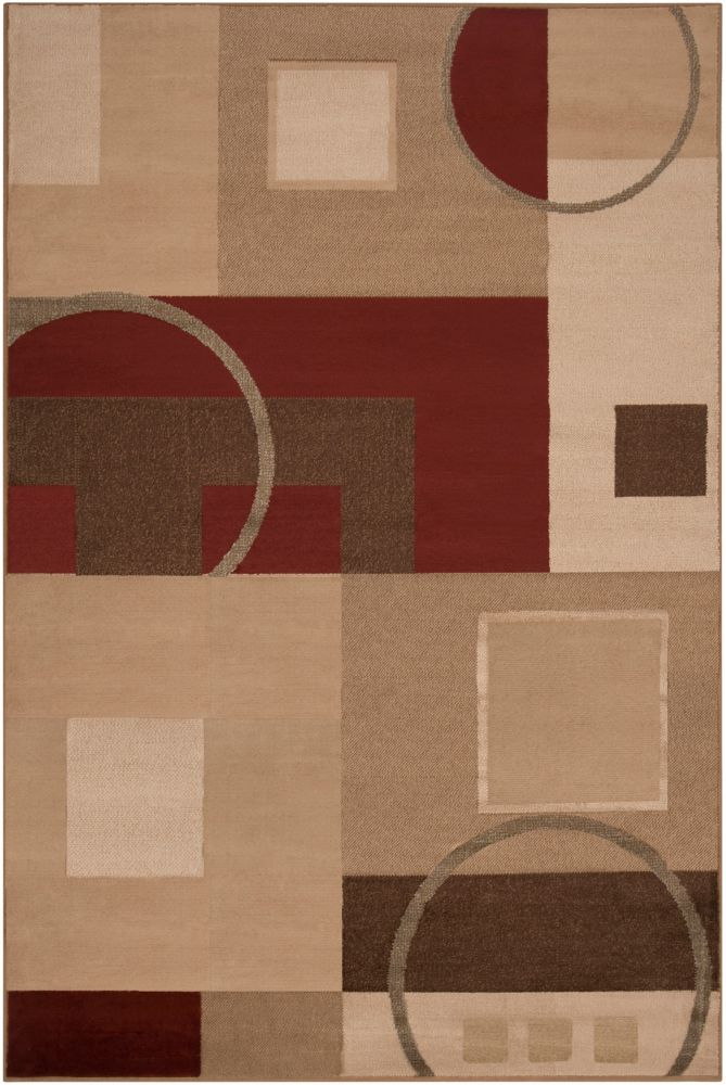 Artistic Weavers Matura Beige Tan 5 ft. 3-inch x 7 ft. 6-inch Indoor Transitional Rectangular Area Rug